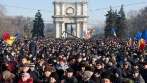 Митинг в Кишиневе: