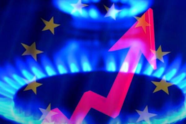 Цена на газ растет
